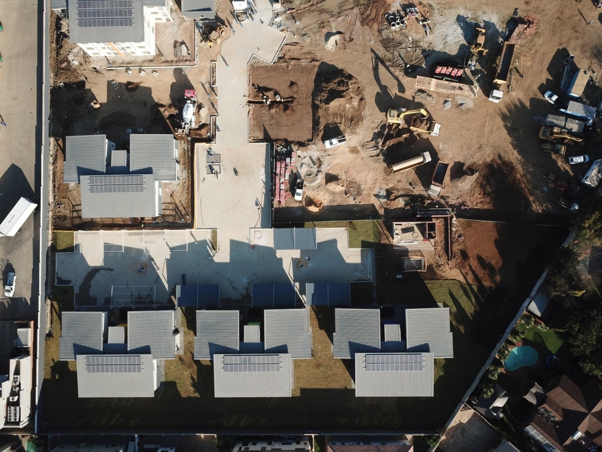 Sunward Park Residential Development